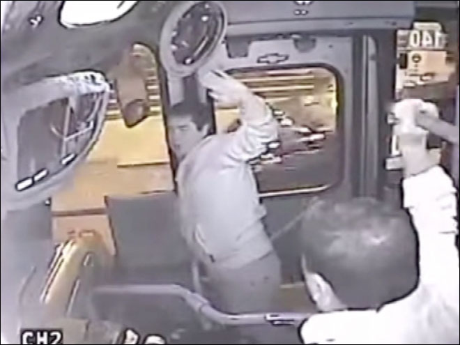 Bus driver beat down