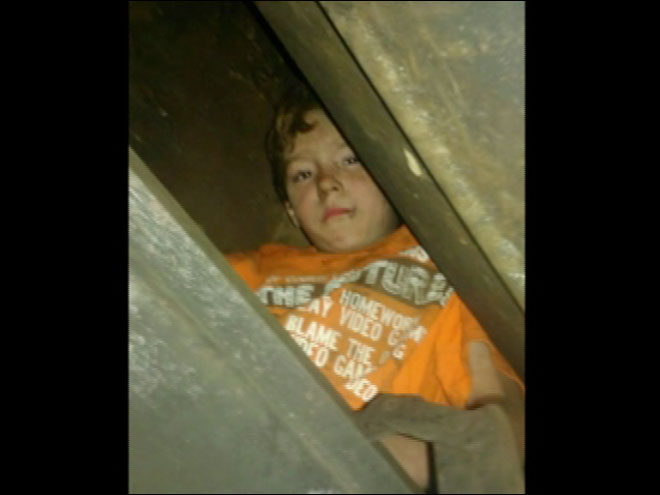 Boy 'Chillaxin' on roof with friend, gets stuck in chimney