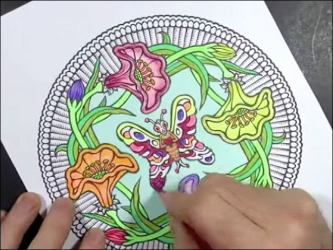 Pass The Crayons Coloring Books For Adults Catching On