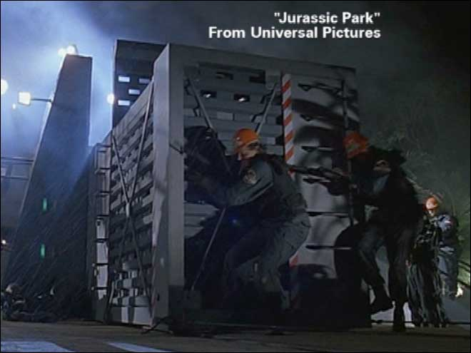 Jurassic Park dinosaur crate for sale