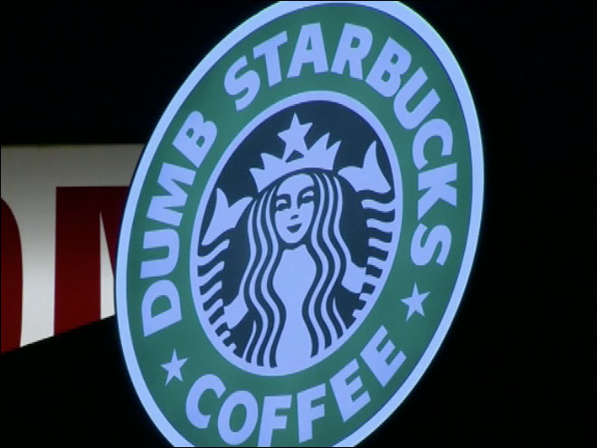 'Dumb Starbucks' parodies real coffee shop