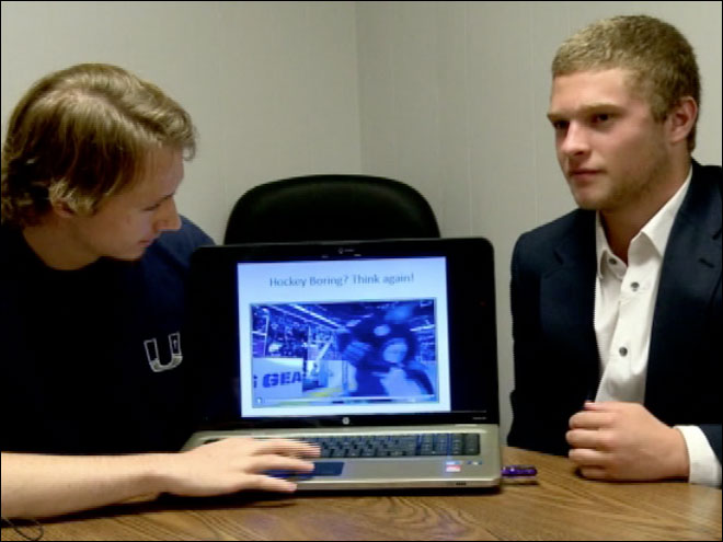 Teens make proposal to bring hockey team to Fort Smith, AR