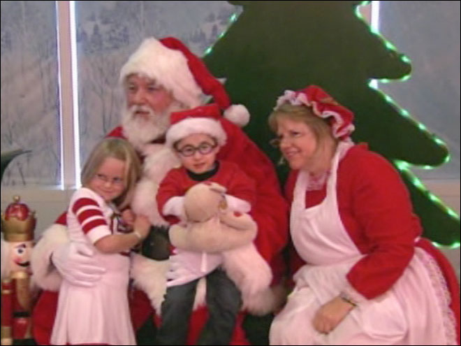 "Sick children get special trip to ""North Pole"""