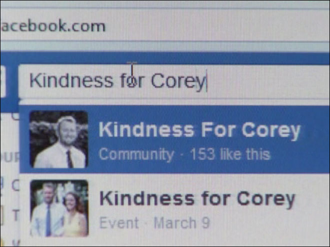 Kindness for Corey