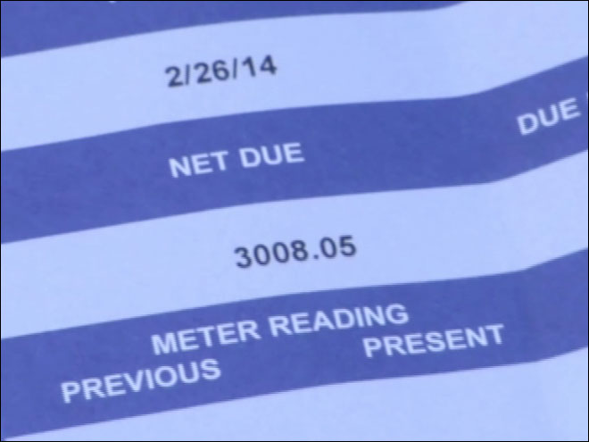 Leaking pipe leads to $3,000 water bill