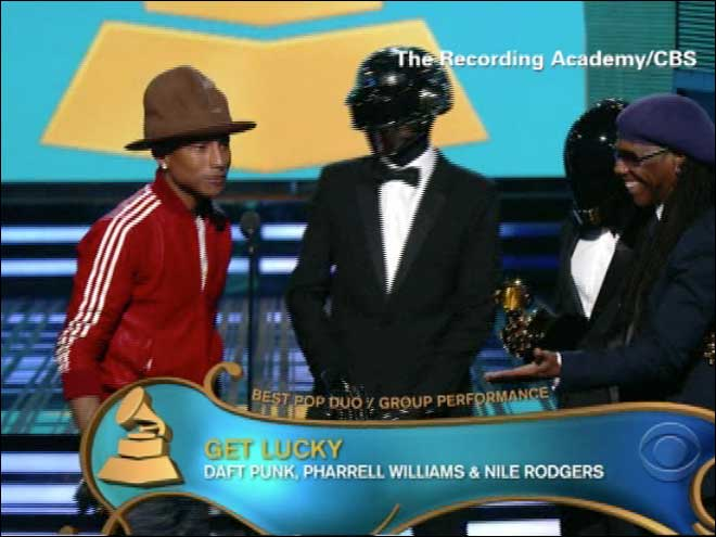 Pharrell's Grammy hat and it's history