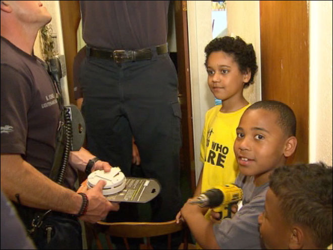 Boy forgoes PS4 to buy smoke detectors