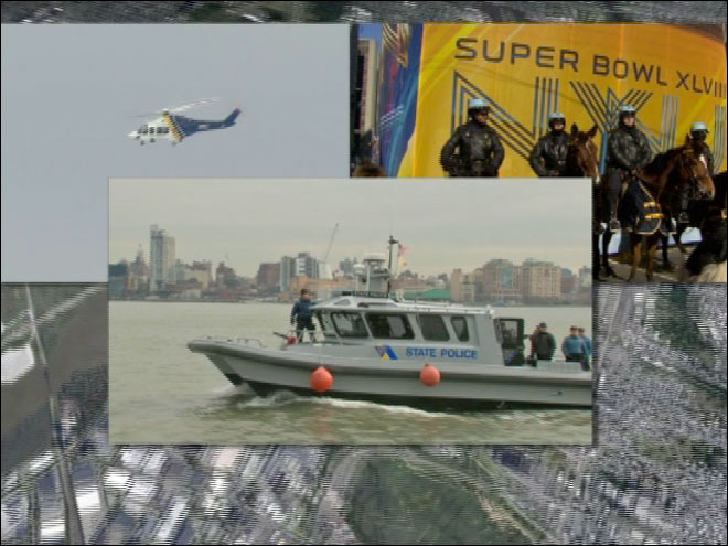 Massive preps underway to keep Super Bowl safe