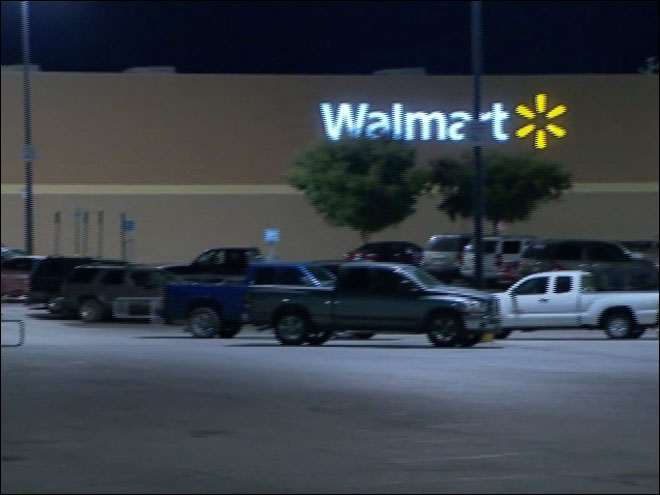 Teen secretly hides in Walmart for four days