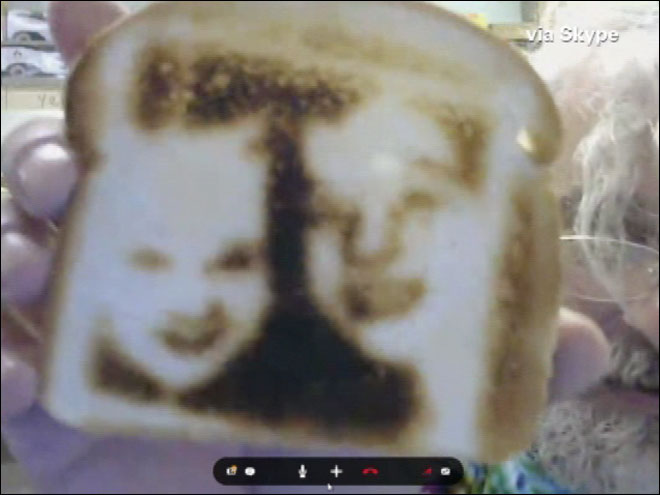 Selfies on toast? Yep, really!