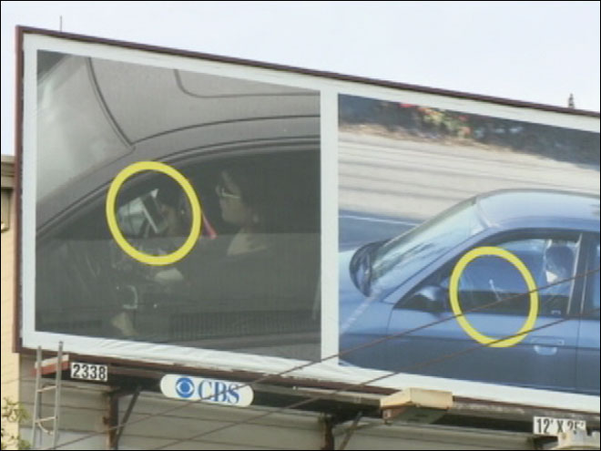 Billboards expose SF Bay Area drivers texting