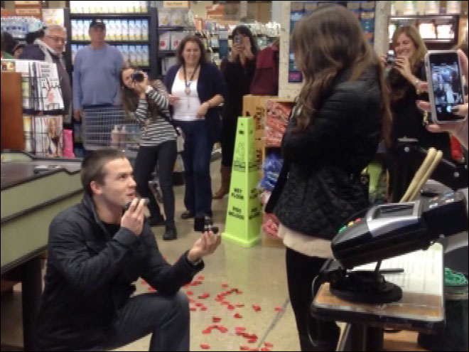 Whole Foods marriage proposal