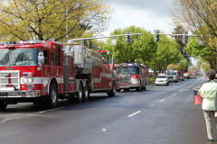 Officer Kilcullen Procession, Eugene, OR