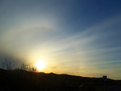 Sunset Halo
