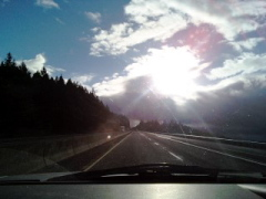 Beautiful drive to Grants Pass
