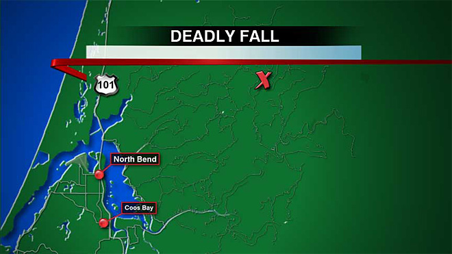 California woman dies in fall along Oregon river