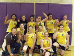 North Bend 7th Grade Volleyball: Champs!