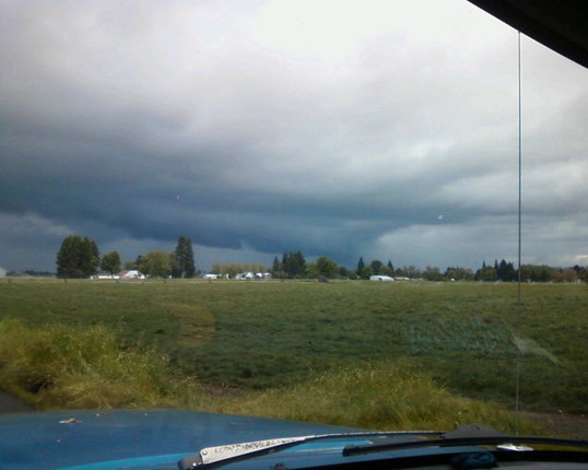 dmentz photo of possible funnel cloud