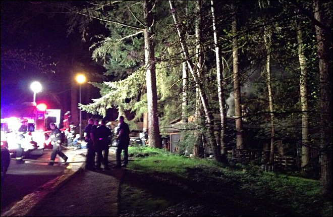 Fire crews find deceased man inside burning South Eugene home