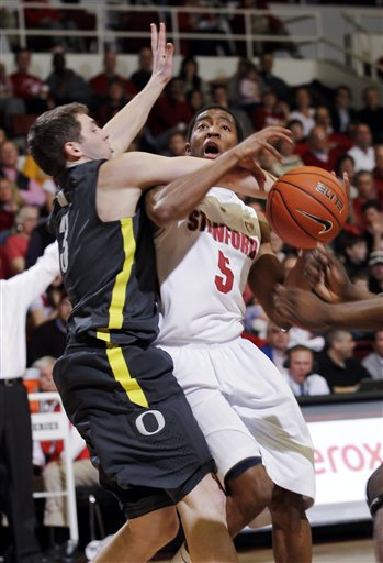Oregon Stanford Basketball