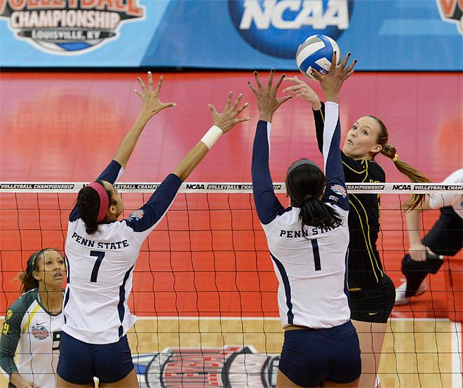 Alaina Bergsma named National volleyball player of the year