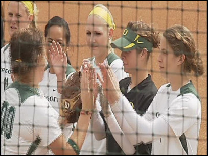 Duck Softball: Oregon 1, California 0