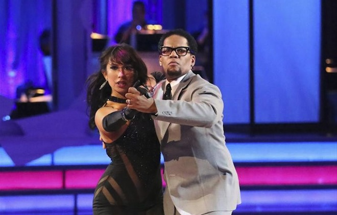 DWTS: D.L. Hughley is stoked to be eliminated