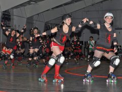 Evil Vs Good Roller Derby Bout  #2