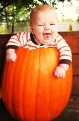 If every pumpkin came with a smile!