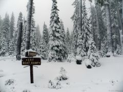 Waldo lake campground