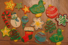 How to choose??????  Christmas cookies!!