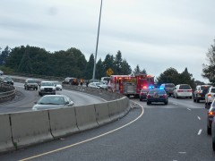 Accident I-5 10-9-10 about 2 p.m.