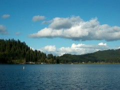 Clouds at Triangle Lake