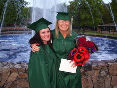 Aunt and Niece graduate from UCC 2011