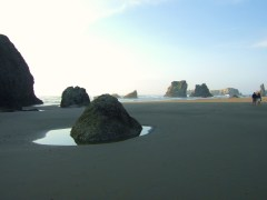 BANDON BEACH NEAR FACE ROCK