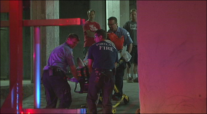 Firefighters rescue man who fell down elevator shaft