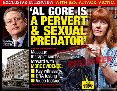 Al Gore&#39;s accuser takes story public in tabloid