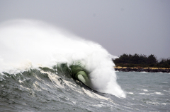 Waves at Coos Head/South Jetty 11/7