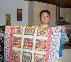 OPERATION QUILTS for Afghanistan troops