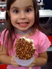 Riley's ice cream day at Costco