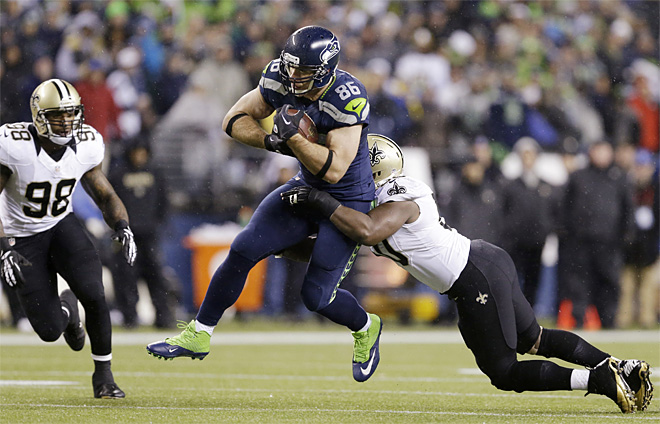 Saints Seahawks Football