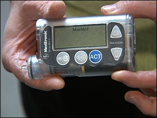 Insulin pump support group