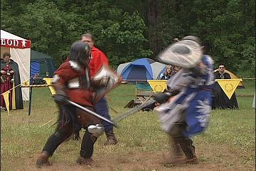 Medieval tournament in Creswell