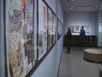 Rare Ken Kesey works go on display at UO