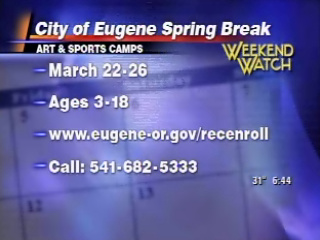 Spring break for kids in Springfield and Eugene