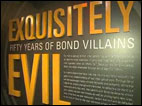 Spy museum celebrates 50 years of James Bond villains