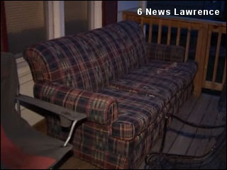 Town bans couches on porches