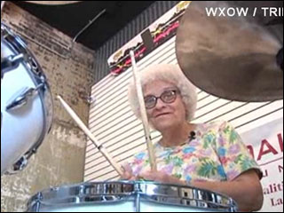 "Mystery ""Grandma Drummer"" revealed"
