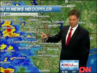 The hiccuping weatherman