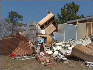 Pastor loses house and church in two days